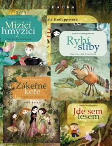 Nové knihy Daniely Krolupperové s illustracemi Ivy Chlupíkové